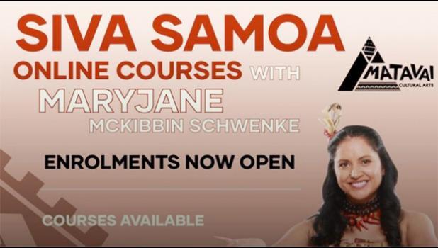 Announcement of Samoa Siva lessons online