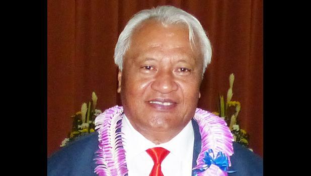House Speaker Savali Talavou Ale