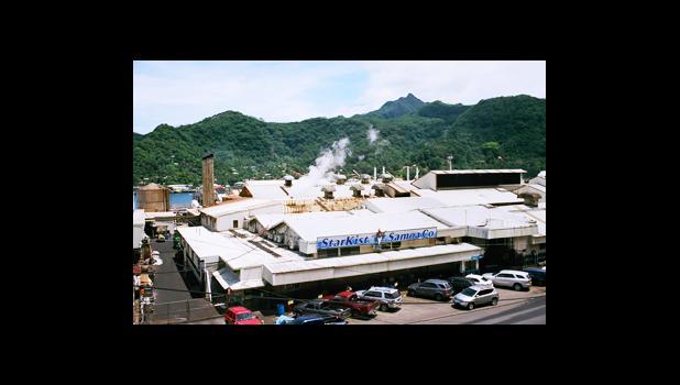 StarKist plant in American Samoa