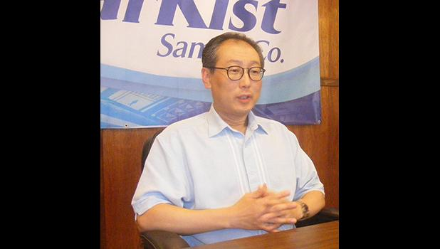 StarKist president and CEO, Andrew Choe