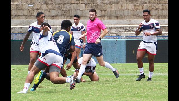 Talavalu in action against Solomons