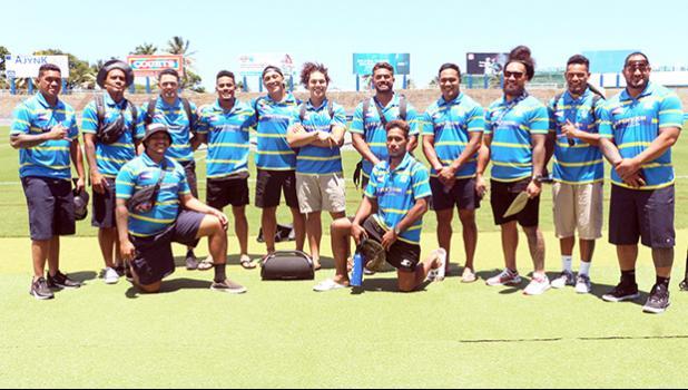 The ASRU American Samoa National Rugby Team Talavalu during