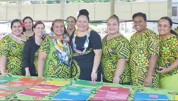 Teachers at Manumalo Baptist Academy