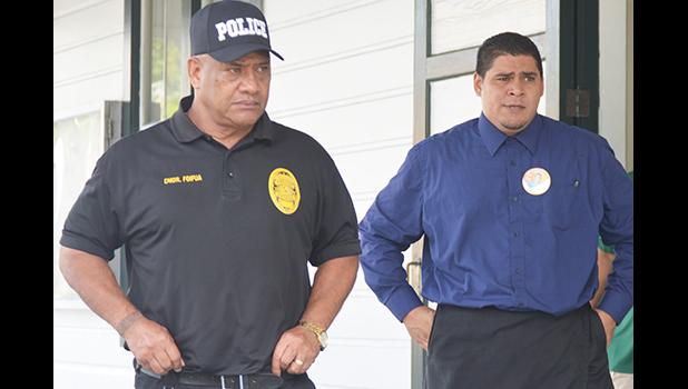 Thomas Siaumau leaving the court house in a Samoa News file photo