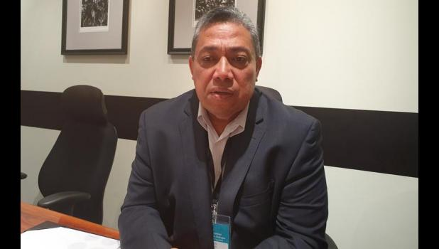 Chief executive of Tonga's Ministry of health Dr Siale Akauola