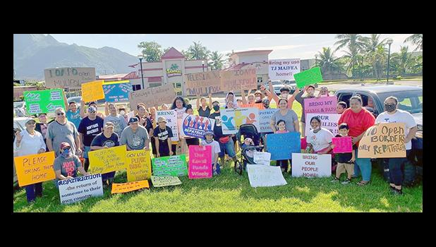 Local residents rally for stranded citizens