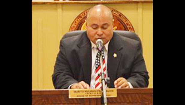 Governor's Chief of Staff, Tuimavave Tauapai Laupola