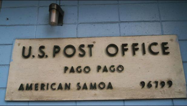 Pago Pago USPS sign