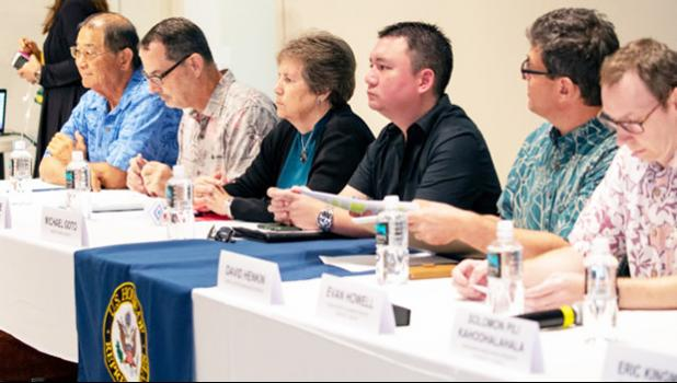 A panel of diverse stakeholders shared their thoughts on how to improve the Magnuson-Stevens Act.