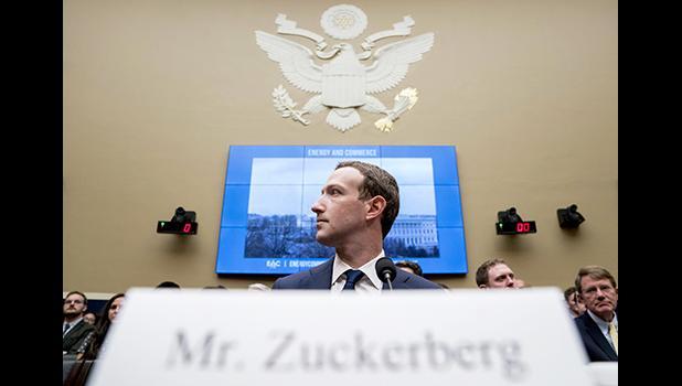 Facebook CEO Mark Zuckerberg in an AP file photo