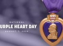 Purple Heart Day logo