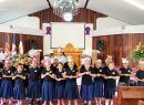 Samoa Baptist Academy students singing