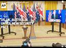 Video of ceremonial announcement of AUKUS