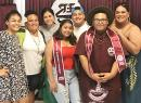 Tafuna High School senior student government association officers with their advisors Eden Brown & Eileen Ale