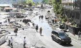 Aftermath of the 2009 Tsunami in the village of Pago Pago that hit American Samoa as well as neighboring Samoa, causing many deaths. At the time of the disaster, American Samoa's tsunami warning system was still on the drawing board.  [SN file photo]