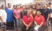 DOH Tobacco Diabetes Coalition members with Olosega-Ofu elementary students and teachers