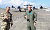 Sgt. 1st Class Gilberto Rivera and Petty Officer 1st Class Robert Hannah