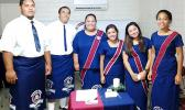 Pictured here are the new officers in the ASCC Chapter of the Health Occupations Students of America (HOSA). Left to right: William Siaki, Mafoa Falefata, Gracechelle Cabalar, Reina Sotto, Chesiah Javier, and Sivoki Niumataiwalu.  [Courtesy Photo]