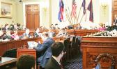 Congresswoman Aumua Amata and the Natural Resources Committee reconvene Wednesday for the two-part Mark-up. [courtesy photo]