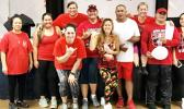 FHSAA Hawaii officers,members and Yumi Kraft, zumba instructor. [courtesy photo]