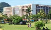 Samoa government building, Apia. [Photo: RNZI / Johnny Blades]