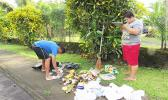 Data was collected from 13 of the 20 groups that conducted monthly cleanups during the 2016 3rd quarter of the AS-EPA Keep American Samoa Beautiful program in the Territory.  [Courtesy photo]