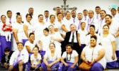 Team Luka was one of the three teams that re-enacted parts of the last day of Christ's life on Earth, during the Easter program at the Samoan Congregational Christian Church of Ft. Hood, last month. The two other groups were Team Mareko and Team Mataio. [courtesy photo]