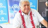 Prime Minister Tuilaepa Sailele Malielegaoi addresses the nation as Samoa says goodbye to 2016 and greets 2017.  (Photo JL)