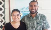 Pacific Climate Warriors re-focus for 2018: Brianna Fruean and Fenten Lutunatabua.  [courtesy photo]