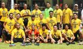 Pago Youth, champions of the 2016 FFAS National League that ended on Saturday, November 26. Pago Youth is a five-time champion of the FFAS National League.   [FFAS MEDIA/Brian Vitolio]