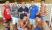 Samoa's boxing team won the 2016 Mosooi International Boxing Championships against the American Samoa boxing team —4- nil. [photo by AF]