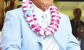 House Speaker Savali Talavou Ale during the Inauguration Ceremony that took place on Jan. 03, 2017 at the Fagatogo malae.  [photo: AF]