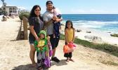 Kalikimoku Hunt, an American Samoan, has created the ultimate survival guide for stay-at-home parents — especially for dads seen here with his family. He is hoping to have the book published by Father's Day this year. See story below.  [Courtesy photo]