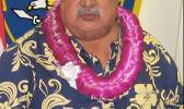 Newly selected Senator Tuaolo in a Samoa News file photo.