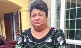 Tualauta Representative Vui Florence Vaili Saulo, the only female in the Legislature.  [Courtesy photo]