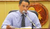 Acting Governor Talauega