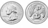 Heads and tails of the new National Park of American Samoa quarter
