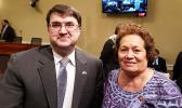 Congresswoman Amata with VA Secretary Wilkie