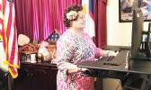 Congresswoman Uifa'atali Amata