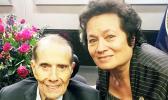 Amata with Senator Bob Dole