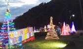 Christmas lights at Aoloau