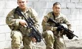 U.S. Army Reserve brothers Spc. Pemerika Mahuka, and Sgt. Clayton (Kona) Mahuka