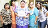 Ina Shekinah Tupufia with ASCC admin