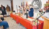 (L-R) Mayor Blangiardi, Governor Lemanu, Lt. Governor Josh Green, Rev. Elder Falelua Lafitaga