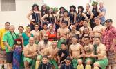 Samoans and family members of US Army Garrison-Humphreys in South Korea