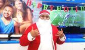 Santa Manny at BlueSky