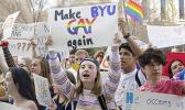BYU student protesters