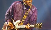 FILE - In this Nov. 25, 2007 file photo, legendary U.S. rock and roll singer and guitarist Chuck Berry performs in Burgos, Spain. Rock 'n' roll founding father Berry was among the notable figures who died in 2017. (AP Photo/Israel Lopez Murillo, File)