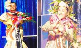 Miss American Samoa Magalita Johnson (left) and Miss Pacific Islands Matauaina Toomalatai (right)