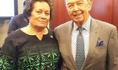 Congresswoman Amata and Commerce Secretary Wilbur Ross